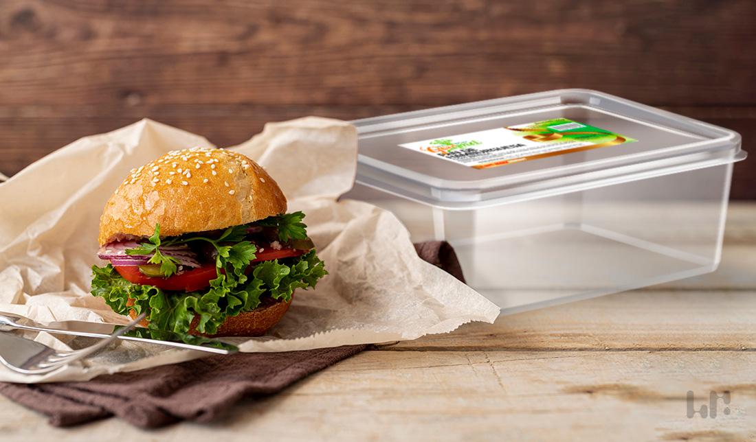 etiqueta pan hamburguesa