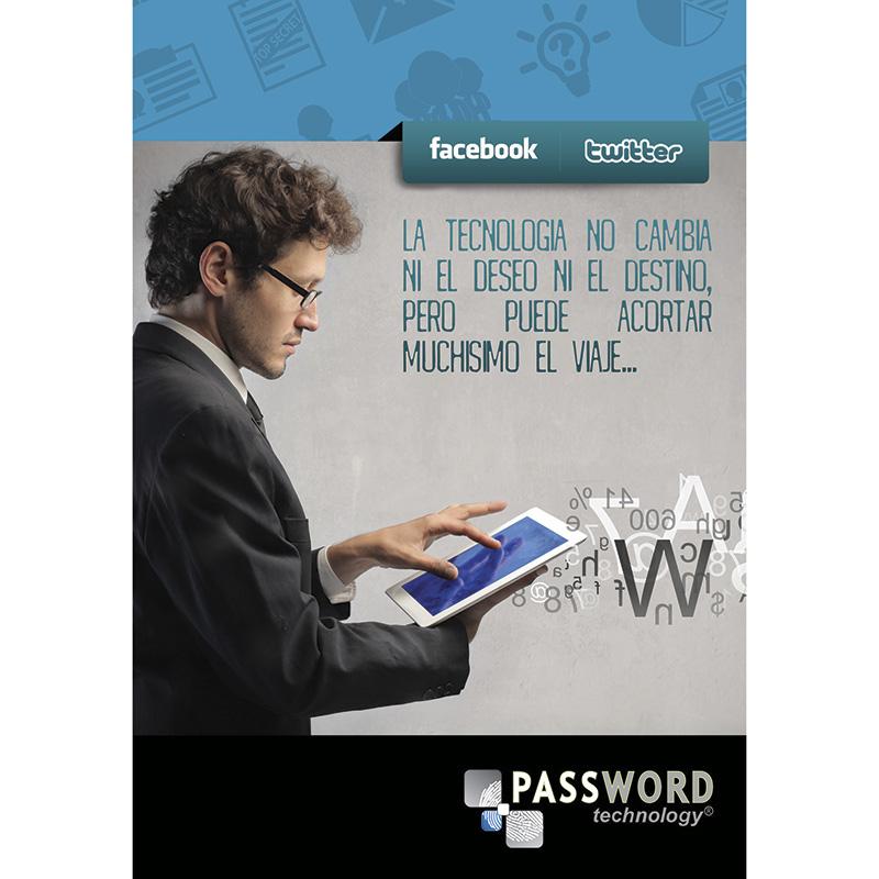 diseño libretas password