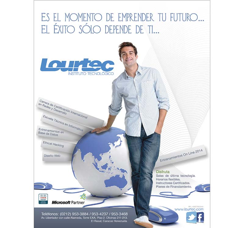 anuncio de revista lourtec